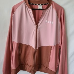 Victorias Secret Pink track suit jacket 2 toned